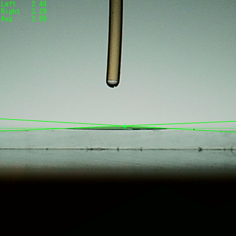 親水性接触角2.89度6秒