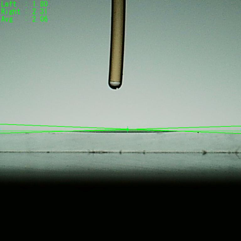 親水性接触角2.06度9秒
