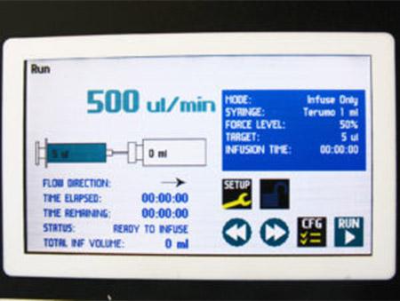 Auto dispenser panel