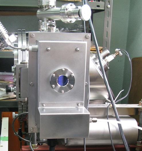 エキシマ真空照射光源フランジ接続