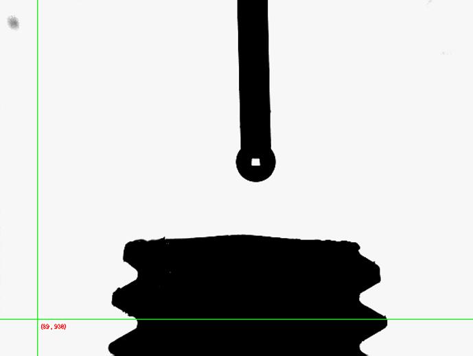 極小接触角計測