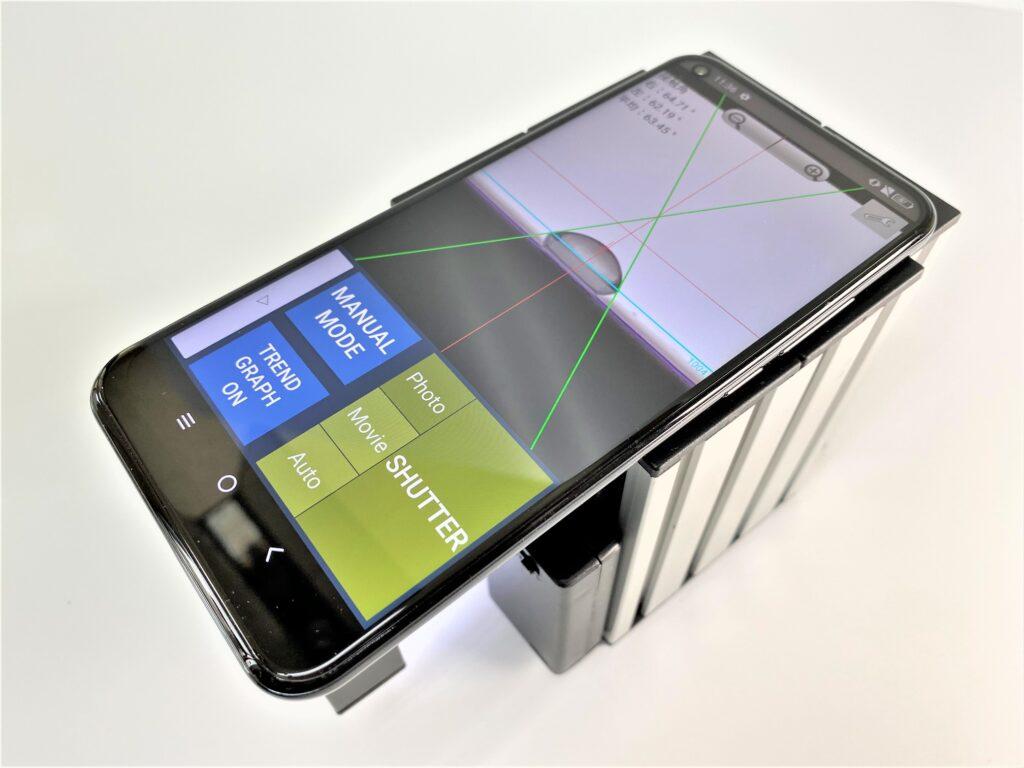 携帯自動接触角計