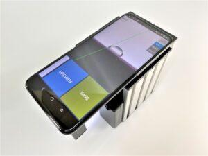 携帯接触角計